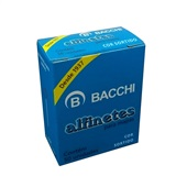 Alfinete para Mapa Nº1 Cores Sortidas CX 50 UN Bacchi