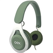 Headset Bluetooth Drop HS210 Verde 1 UN Oex