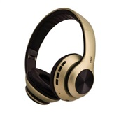 Headset Bluetooth Glam HS210 Dourado 1 UN Oex