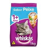 Ração Seca para Gatos Adulto Sabor Peixe 1kg Whiskas