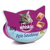 Petisco para Gatos Sabor Pelo Saudável 40g Whiskas