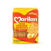 Biscoito Cream Cracker Manteiga 400g 1 Pacote Marilan