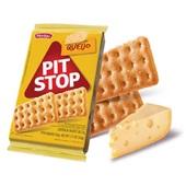 Biscoito Pit Stop Queijo 162g 6 UN Marilan