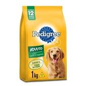 Ração para Cães Adultos Sabor Carne e Vegetais 1kg Pedigree