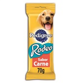 Petisco Rodeo Sabor Carne 70g Pedigree