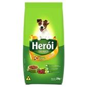 Ração para Cães Adultos Sabor Carne e Vegetais 25 Kg Heroi