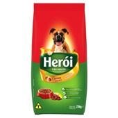 Ração para Cães Adultos Sabor Carne e Cereais 25 Kg Heroi