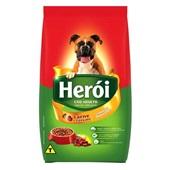 Ração para Cães Adultos Sabor Carne e Cereais 15 Kg Heroi