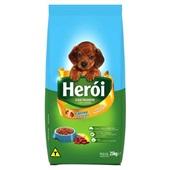 Ração para Cães Filhotes Sabor Carne e Cereais 25 Kg Heroi