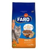 Ração para Gatos Adultos Sabor, Carne, Peixe e Vegetais 20 Kg Faro