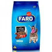 Ração para Gatos Filhotes Sabor Carne e Leite 1 Kg Faro