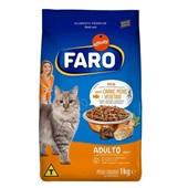 Ração para Gatos Adultos Carne, Peixe e Vegetais 1 kg Faro
