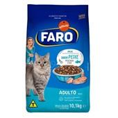 Ração para Gatos Adultos Sabor Peixe 10. kg Faro
