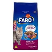 Ração para Gatos Adultos Sabor Carne e Frango 20 Kg Faro