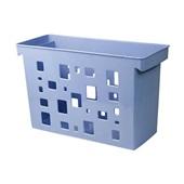 Caixa Arquivo DelloColor sem Pasta Suspensa Azul Claro Dello