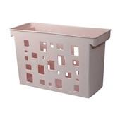 Caixa Arquivo DelloColor sem Pasta Suspensa Rosa Claro Dello