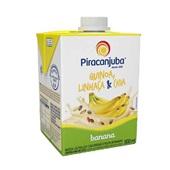 Bebida Láctea UHT Banana com Cereais 500 ml Piracanjuba