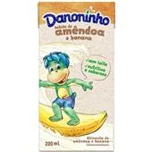 Bebida Vegetal Sabor Amêndoa e Banana 200ml Danoninho