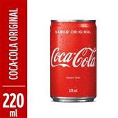 Refrigerante Coca Cola 220ml Lata
