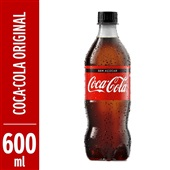 Refrigerante Coca Cola 600ml Pet