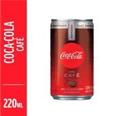 Refrigerante Coca Cola com Café 220ml Lata