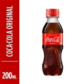 Refrigerante Coca Cola 200ml Pet