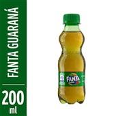 Refrigerante Fanta Guaraná 200ml Garrafa