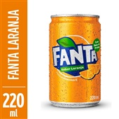 Refrigerante Fanta Laranja 220ml Lata
