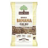 Granola Banana e Cacau 1kg 1 UN Mãe Terra