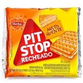 Biscoito Pit Stop Recheado Sabor Misto Quente 105g Marilan