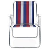 Cadeira Alta Alumínio Cor 1 Mor