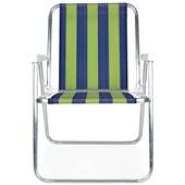 Cadeira de Praia Alta Alumínio Cor 5 Mor
