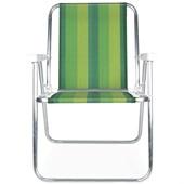 Cadeira de Praia Alta Alumínio Cor 6 Mor