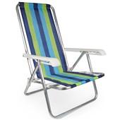 Cadeira Reclinável 4 Posição Alumínio Cor 2 Mor