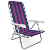Cadeira Reclinável 4 Posição Alumínio Cor 3 Mor