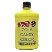 Cola Candy Color Tom Pastel Amarelo 500g 1 UN Magic Slime