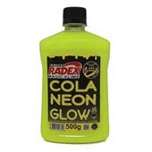 Cola Neon Glow Amarela 500g 1 UN Magic Slime