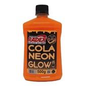 Cola Neon Glow Laranja 500g 1 UN Magic Slime