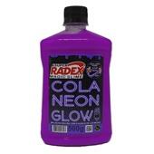 Cola Neon Glow Violeta 500g 1 UN Magic Slime