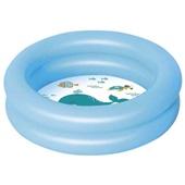 Piscina Banheira Infantil Inflável Azul 28 Litros