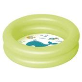 Piscina Banheira Infantil Inflável Verde 28 Litros