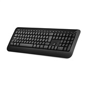 Teclado Wireless Keyboard USB Preto PZ300005 1 UN Microsoft