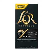 Cápsula de Café Espresso Ristretto 5,2g CX 10 UN L'or