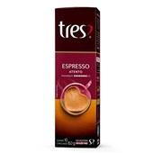 Cápsula de Café Espresso Atento Tres 8g CX 10 UN 3 Corações