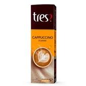 Cápsula de Cappuccino Classic 11g CX 10 UN Café 3 Corações