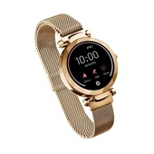 Relógio Smartwatch Dubai Android/IOS Dourado ES266 Atrio