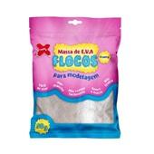 Massa de EVA Flocos Branco Efeito Glitter 50g 1 UN Make Mais