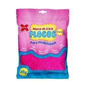 Massa de EVA Flocos Rosa 50g 1 UN Make Mais