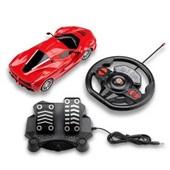 Carrinhos de Controle Remoto Racing Control Speed X Vermelho - BR1142 Multikids
