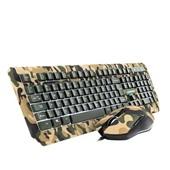 Teclado e Mouse Warrior Kyler Combo Gamer Army TC249 1 UN Multilaser